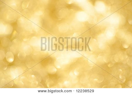 out of focus golden background