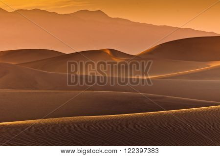 Mesquite Flat Dunes at Death Valley National park