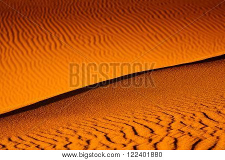 Mesquite Flat Dunes at Death Vakkey National park