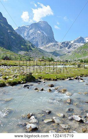 Mountain River, Landscape