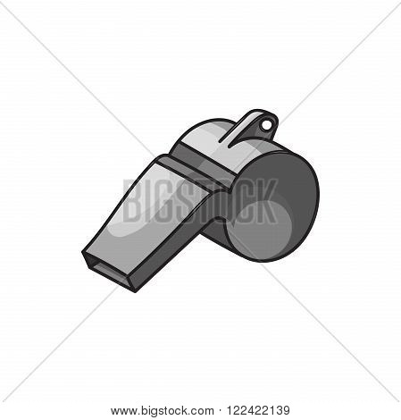 Doodle style safety whistle in vector format