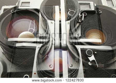 photography and lenses art abstract multi camera