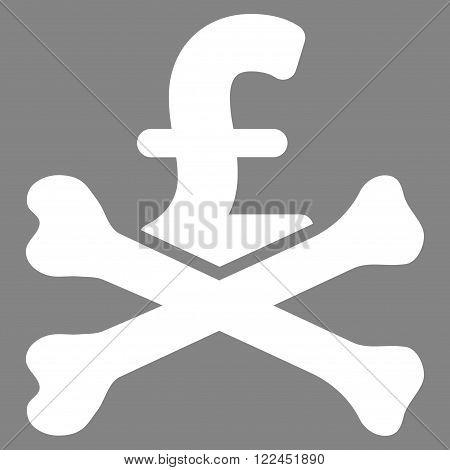 Mortal Pound Debt vector icon. Mortal Pound Debt icon symbol.