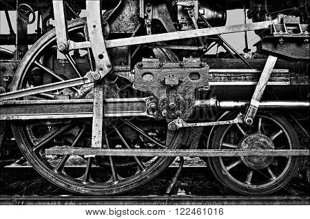 the force of the steam machines - oldtimer