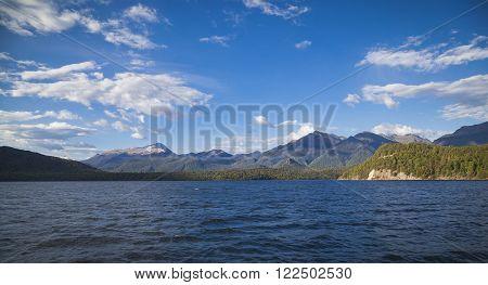 Lake Manapouri Fjordland New Zealand South Island