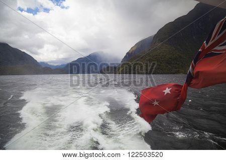 Doubtful Sound Fjordland New Zealand