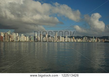 Balneario Camboriu - Brazil - Famous City in Southern Brazil ** Note: Soft Focus at 100%, best at smaller sizes