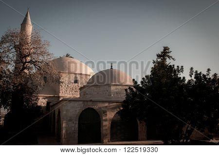 Hala Sultan Tekke or Mosque of Umm Haram. Larnaca, Cyprus