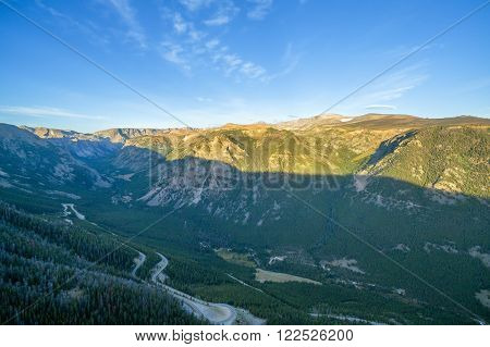 Beartooth Mountains View
