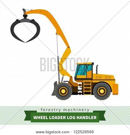 Log Handler Vehicle