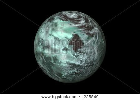 Teal Planet