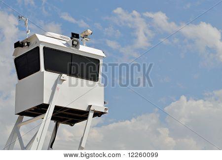 Mobile Polizei Aufklärungsturm