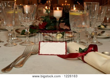 Table Setting F