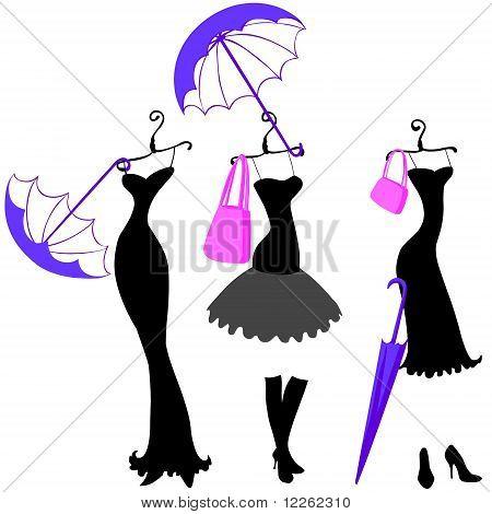 женщины платья и аксессуары