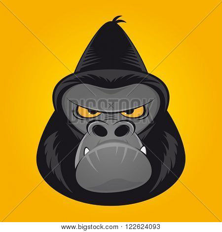 angry ape gorilla