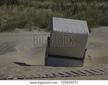 THE BEACH OF BALTURM AT THE GERMAN COAST
