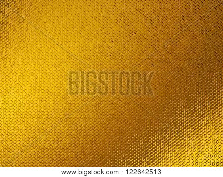 Golden Scales Textured Material