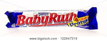 Winneconni WI - 19 June 2015: Baby Ruth candy bar