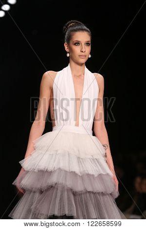 Afffair Catwalk In Mercedes-benz Fashion Week Istanbul