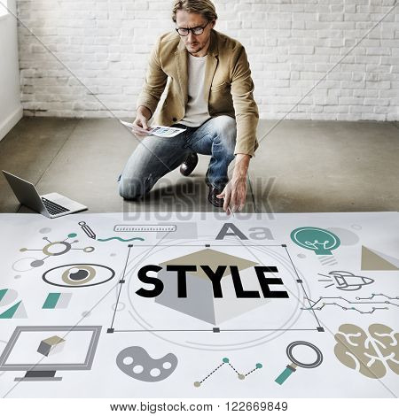 Style Trendy Design Creative Concept