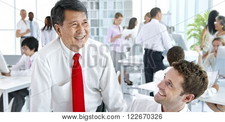 Business Meeting Corporate Office Concept