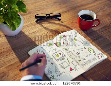 Imagination Inspiration Ideas Creativity Design Concept
