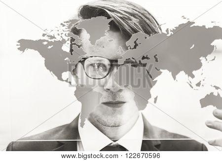 Businessman Formal Professional Leader Concept