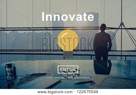 Innovate Create Progress Invention Ideas Concept