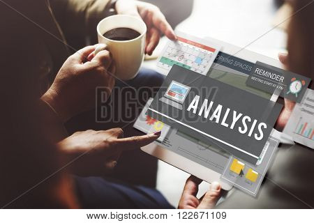 Analysis Research Statistics Strategize Insight Concept