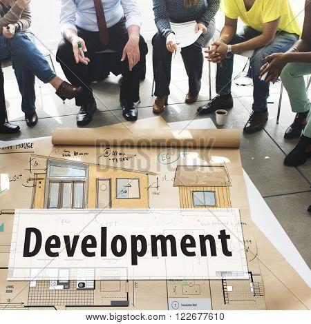 Development Blueprint Project Layout Concept