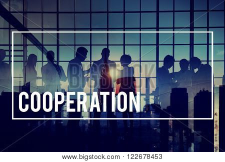 Cooperation Connection Collaboration Teamwork Concept