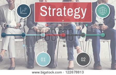 Strategy Process Investment Global Business Concept