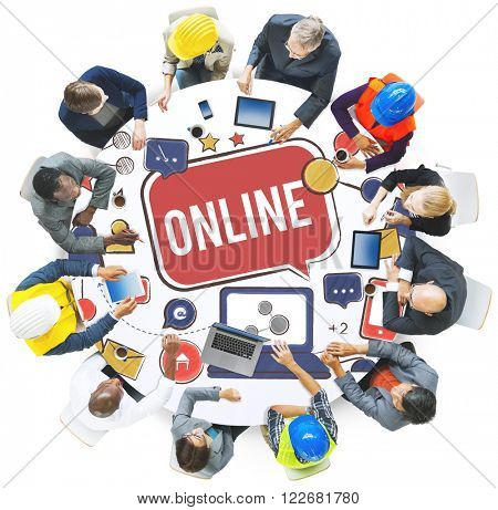 Online Communication Connect Technology Internet Concept