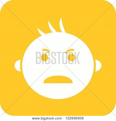 Baby, crying, tears icon vector image. Can also be used for baby. Suitable for use on web apps, mobile apps and print media.