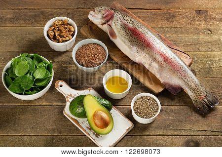Foods Highest In Total Omega-3 Fatty Acids