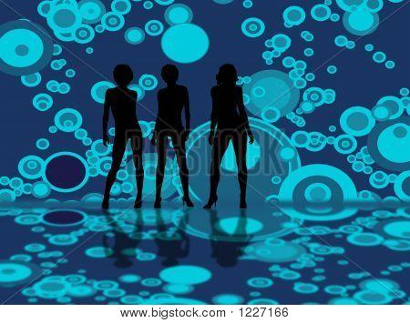 Bubble Model Blue