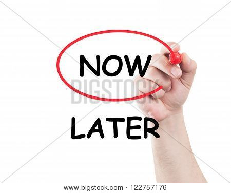 Now Not Later