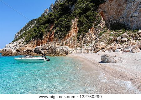 Beach on the Island of Skopelos, Northern Sporades, Greece
