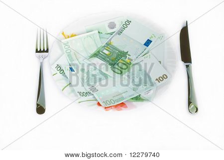 Money Eating