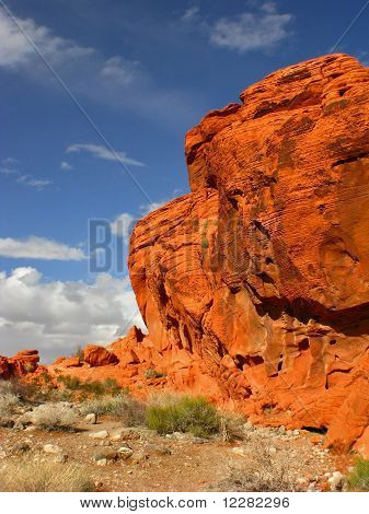 Valley of Fire Outcrop