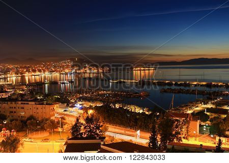 Kusadasi In The Evening, Turkey