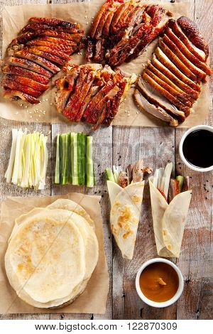 Peking Duck on Parchment with Sauce poster