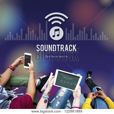 Soundtrack Audio Design Display Electronic Music Concept