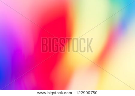 Vibrant Colour Shapes, Simple Blurry Background or Overlay