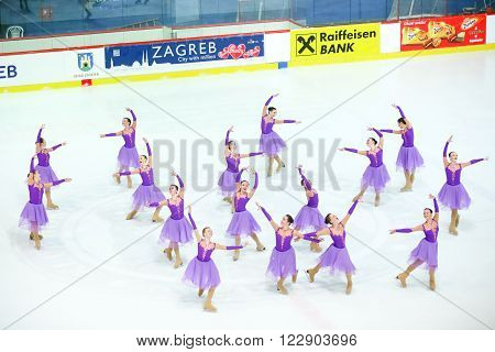 Team Russia One In Zagreb