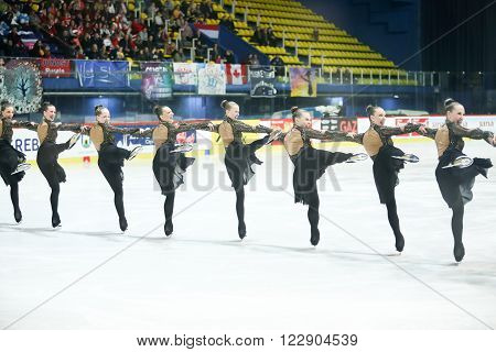 Team Sweden One In The Line Perform
