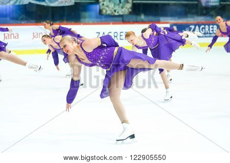 Team Usa Two Perform
