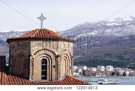 Church of St. Sophia in Ohrid is one of the main landmarks in Macedonia