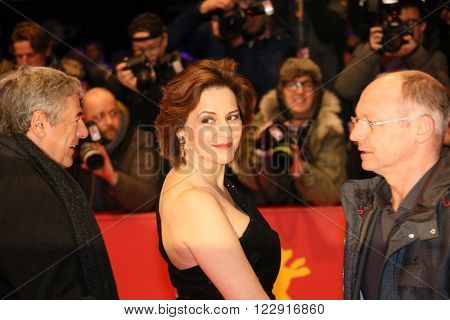 Martina Gedeck attends the closing ceremony of the 66th Berlinale  Film Festival on February 20, 2016 in Berlin, Germany.