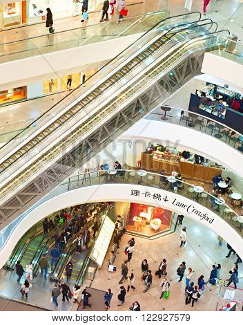 Shopping Mall, Hong Kong